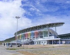 百发为安哥拉卢班戈体育馆提供应急电源